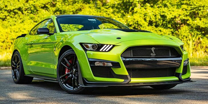 Pronájem Fordu Mustang GT v Shelby paketu na 40 min. nebo až 24 hodin ve všední dny