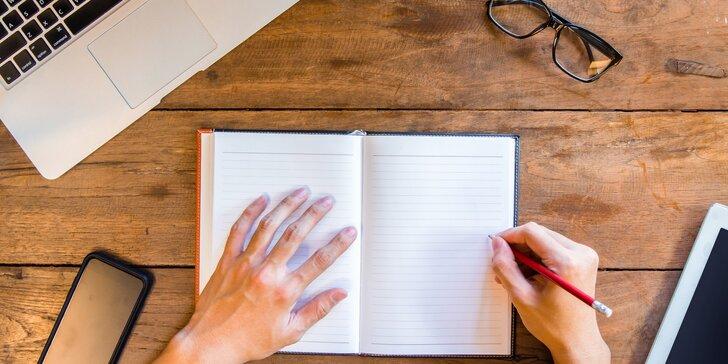 Online kurz kreativního psaní pro děti od 9 do 14 let