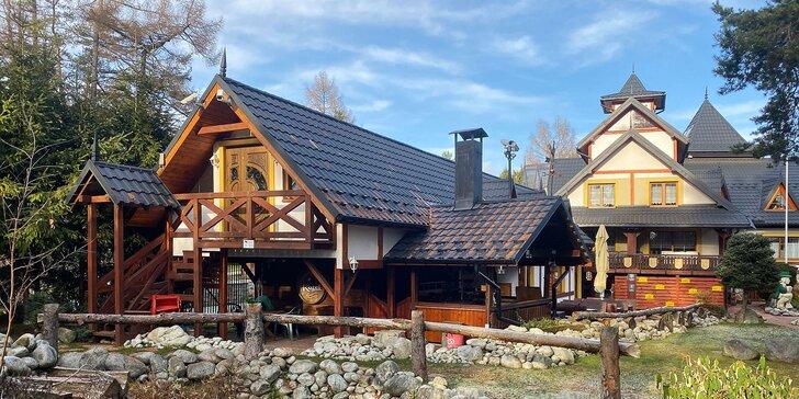 Vysoké Tatry pro pár i rodinu: snídaně i možnost privátního wellness