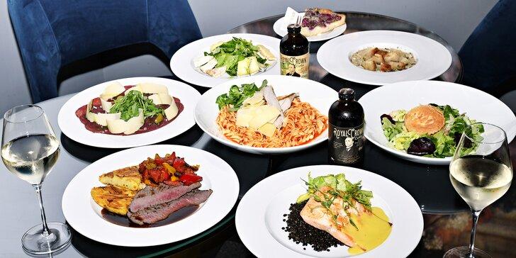 Hostina v 5* hotelu v centru Prahy: menu o 3 nebo 4 chodech i lahev sektu pro pár