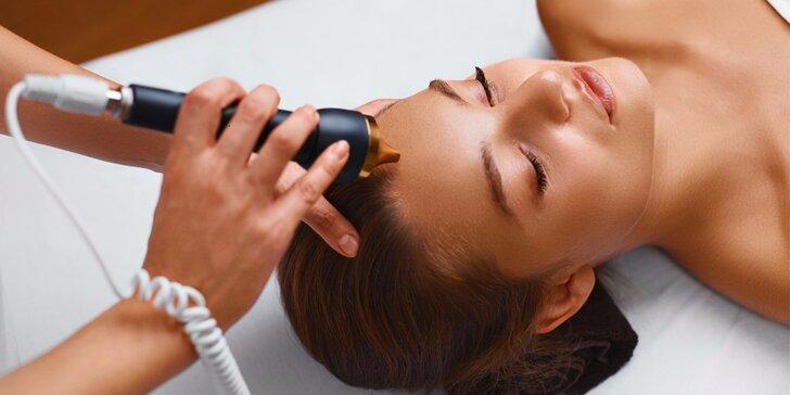 Laserové ošetření očního okolí, obličeje, krku a dekoltu vč. arganového oleje a kolagenu