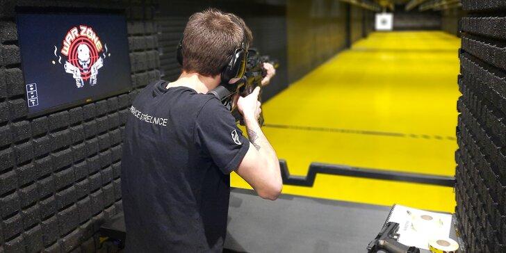 Palba na nejmodernější kryté střelnici v ČR: terče s výkyvy a rotací, střílení za tmy i světelná signalizace