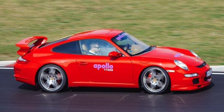 Jízda na okruhu Most v Porsche 911 Carrera GT3: 2 nebo 4 kola i s palivem