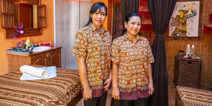 Čas na zasloužený odpočinek: 30 nebo 60 minut thajské masáže dle výběru