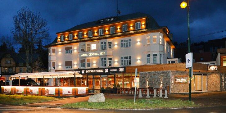 Rodinný all inclusive pobyt ve zrekonstruovaném historickém hotelu v centru Špindlerova Mlýna