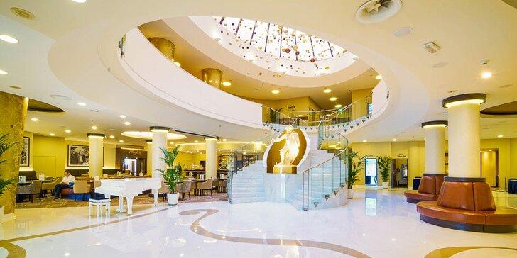 Luxusní pobyt ve 4* hotelu na Vinohradech: snídaně a možnost wellness