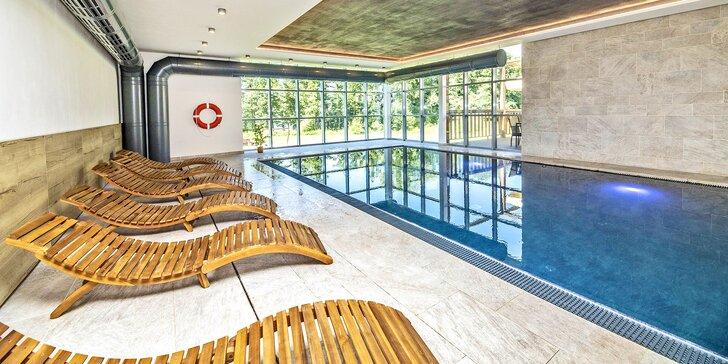 Wellness pobyt v resortu přímo u Lipna: polopenze, sauna a bazén i další bonusy