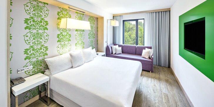 Pobyt v luxusním 4* hotelu v Praze pro pár i rodinu: bufetové snídaně, sauna, fitness a Relax zóna