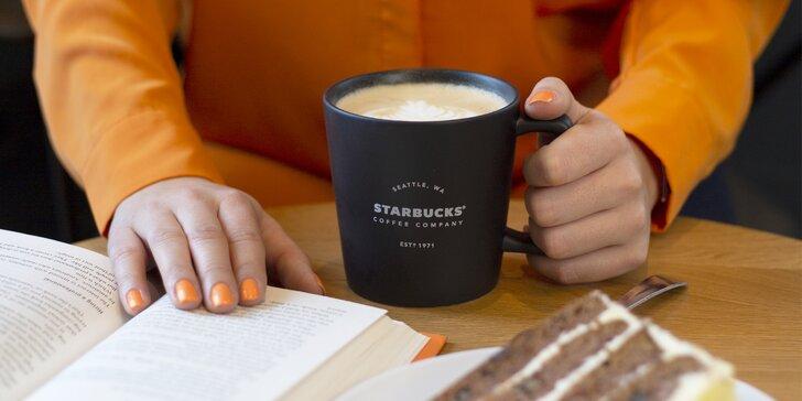 Víkendový flash sale ve Starbucks: 50% sleva na merchandising a k nákupu nápoj zdarma