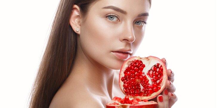 Omlazující nebo relaxační kosmetická péče s vůní jablek a skořice