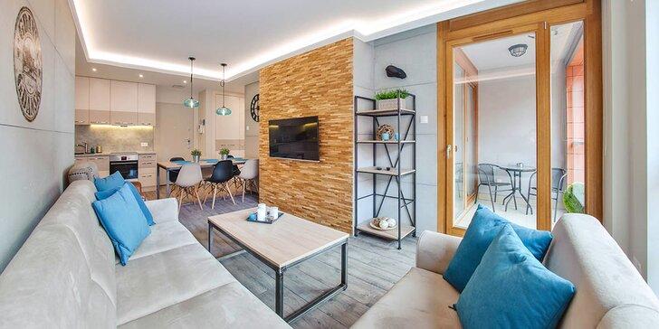 Vyrazte za krásami Gdaňsku: moderní apartmány až pro 4, nedaleko centra