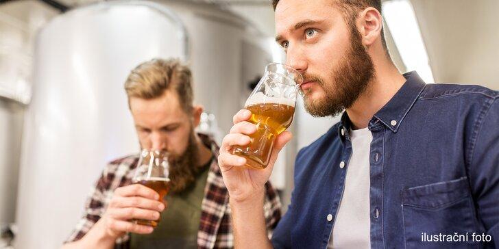 Pro milovníky piva: degustace 4 řemeslných piv v chrudimském pivovaru