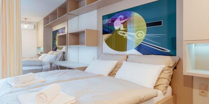 Designový smarthotel v Olomouci: pobyt kousek od centra s možností privátní sauny