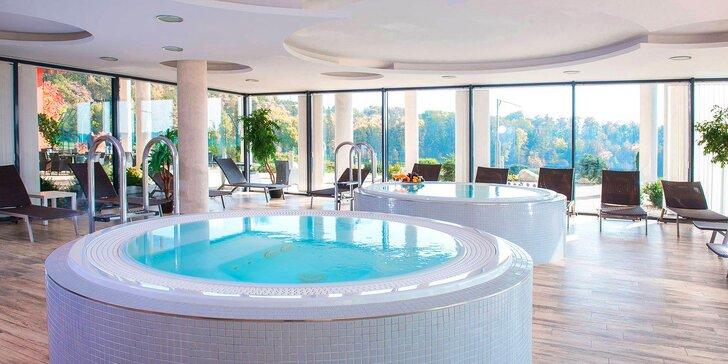 4* luxus ve Velichovkách: pobyt na 2–8 dní, snídaně či polopenze i wellness