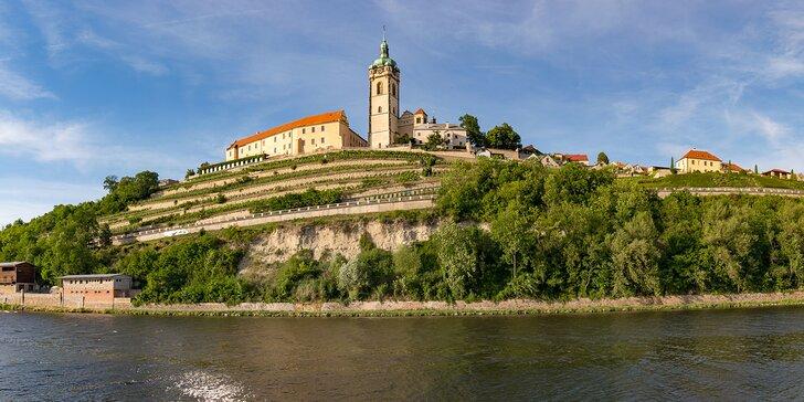Poznejte krásy zámku Mělník: vstupenka na prohlídku s průvodcem