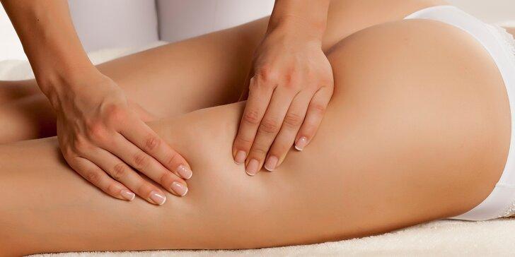 Dejte sbohem pomerančové kůži: anticelulitidní masáž pro hladkou pokožku