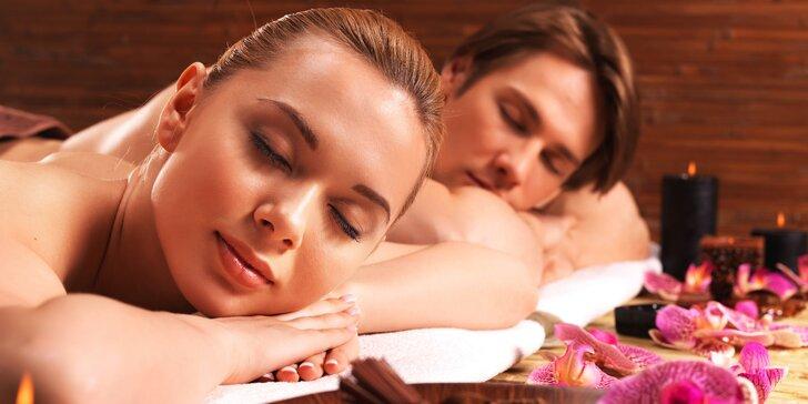 Relaxace pro dva: 30–90minutová thajská masáž dle výběru
