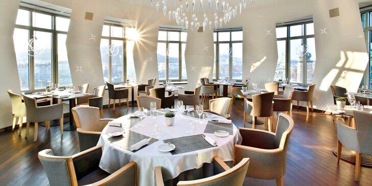 5chodové degustační menu v restauraci Ginger & Fred i s vinným párováním