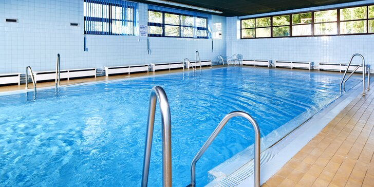 Dovolená v Orea Resortu na Vysočině s polopenzí a volným vstupem do bazénu