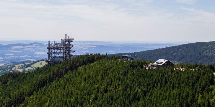 Až 15denní relax v Orlických horách: snídaně či polopenze i wellness