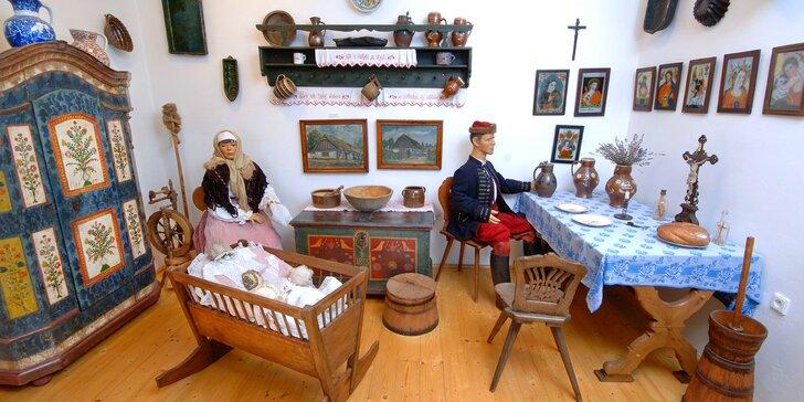 Vstup pro dítě, dospělého i rodinu do městského muzea Loreta