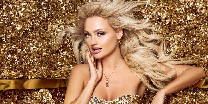 Dvě hodiny pro krásu: relaxační celotělová masáž, kosmetika a zlatá maska
