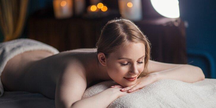 Skočte si na masáž na 40 nebo 60 minut: klasická, havajská nebo tlaková