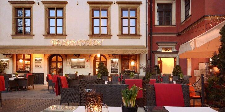 Pobyt v Krakově: elegantní 4* hotel v historické Kazimierzi, 20 minut od hradu Wawel