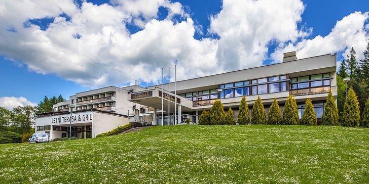 Pobyt v Luhačovicích: all inclusive vč. nápojů, neomezeně bazén a sauna