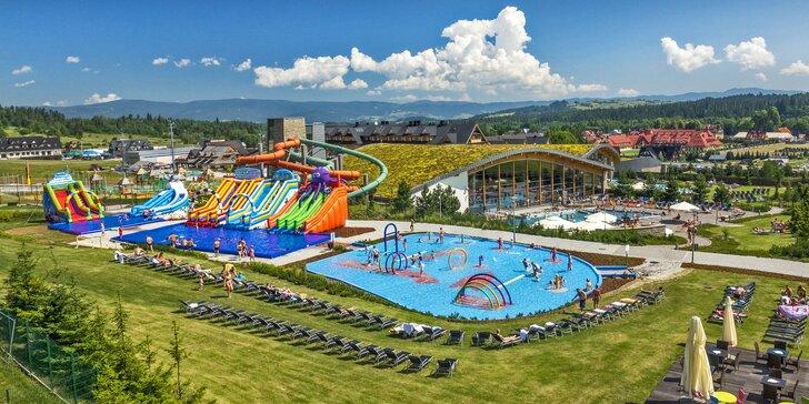 Relax v rodinném hotelu: termální bazény, wellness i zábava pro děti