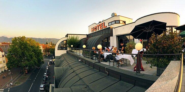 4* dovolená v Rakousku: hotel 1 km od jezera Wörthersee, bufetové snídaně