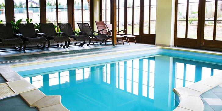 Relax uprostřed Lednicko-valtického areálu: polopenze, bazén, víno na pokoj