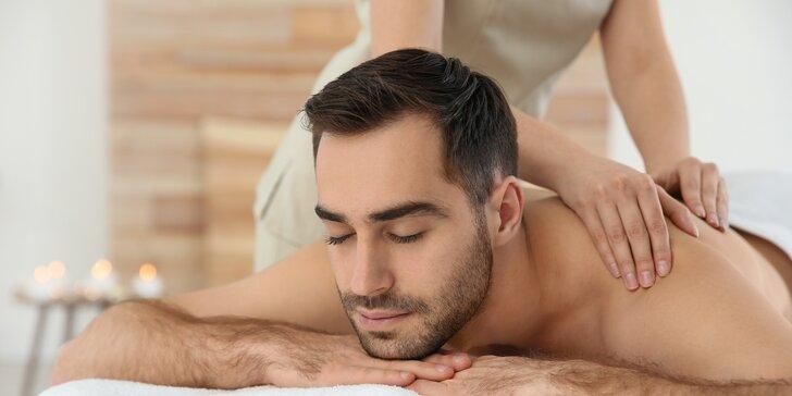 Hadí masáž pro muže: 70 min. speciální thajské relaxace i soft drink po masáži