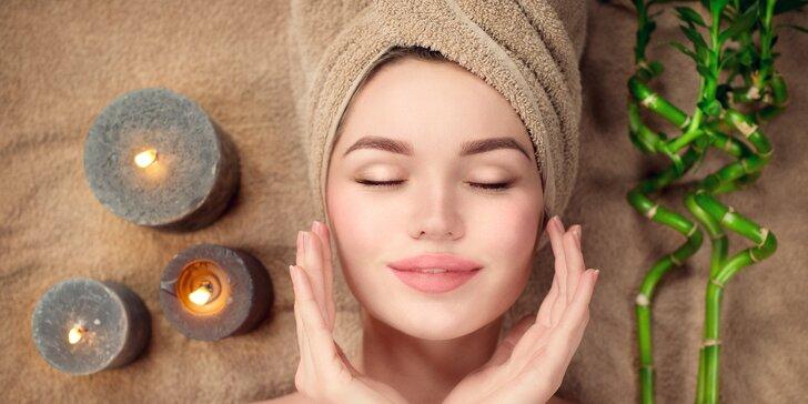 Hodinová masáž podle výběru a úprava obočí, lifting nebo IPL epilace