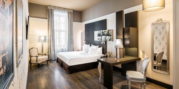 V páru či s rodinou do 5* hotelu v Brně: snídaně či polopenze i vstup do sauny