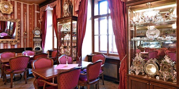 Otevřené vouchery v hodnotě 500, 1000 nebo 2000 Kč na celé menu v Café Mozart