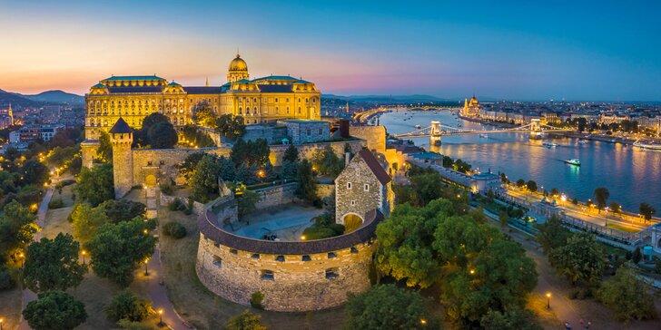 Skvělý 4* hotel v historickém centru Budapešti se snídaní