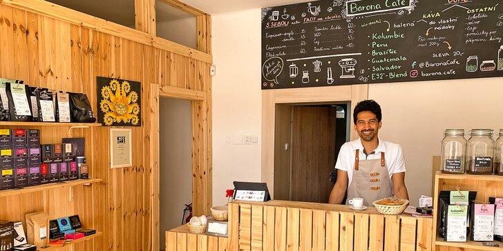 Pražírna a prodejna kávy a bio čajů: otevřený voucher na 250, 500 i 1000 Kč