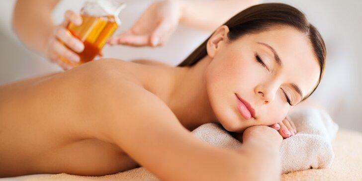 Až 2,5 hod. odpočinku: speciální celotělový harmonizační a detoxikační program
