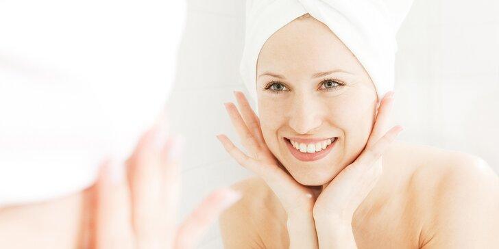 Kosmetická péče pro aknózní, suchou, zralou či unavenou pleť: čištění, peeling, maska aj.
