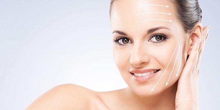 Vyhlazení vrásek na obličeji, krku a dekoltu či redukce tuku na podbradku