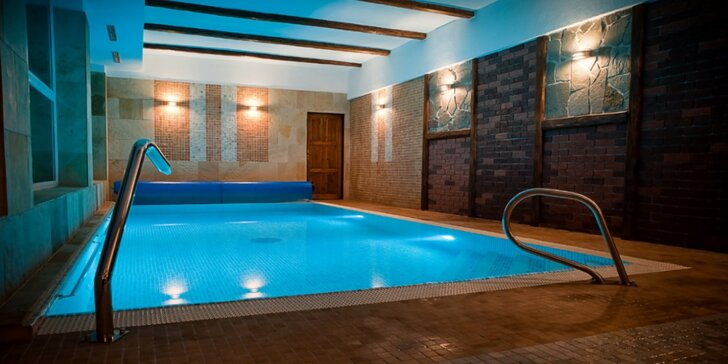 Parádní relax v Jeseníkách: polopenze, wellness i slaný bazén