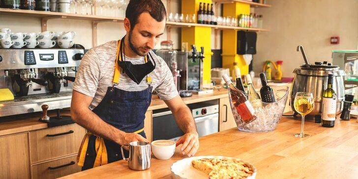 Až 5hod. baristický kurz: domácí či pokročilá příprava espressa
