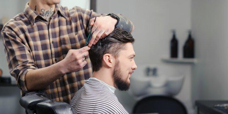 Barber balíčky pro muže kousek od Václaváku: střih, holení i korekce šedin