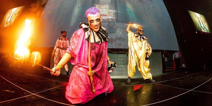 Ohana Horor Cirkus: nová hororová show, 120 minut extrémní zábavy