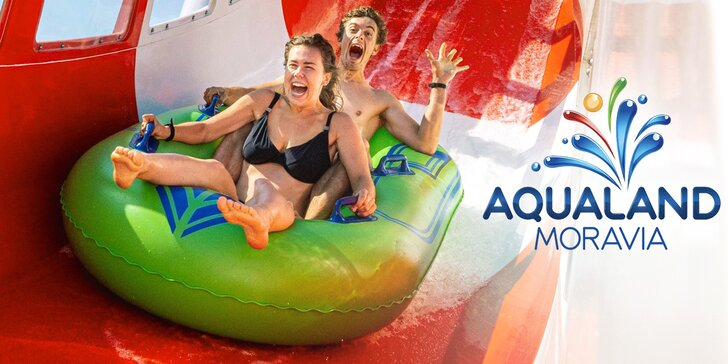 Léto na plné pecky: Aqualand Moravia s novým dětským vodním hradem a vodní horskou dráhou High Five