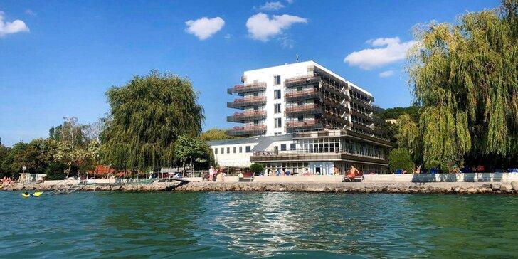 Letní pohoda na břehu Balatonu: dovolená s neomezeným wellness, polopenzí i sportovními aktivitami