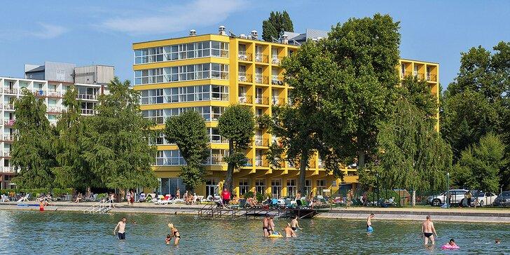 Na dovolenou do Maďarska: 3* hotel přímo na břehu Balatonu, snídaně