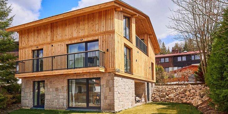 Aktivní odpočinek v Harrachově: pobyt v krásných nových apartmánech