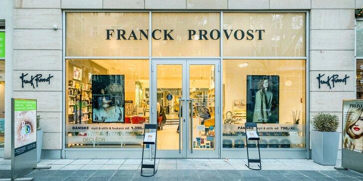 Pánský střih včetně mytí a stylingu ve Franck Provost